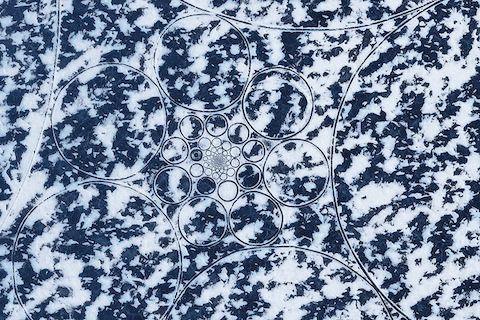 Узоры озеро Байкал