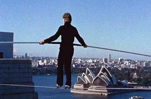 3. «Людина на канаті» (Man on Wire)