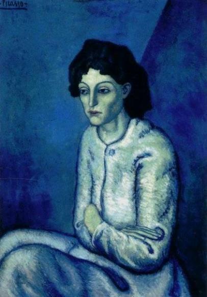 Женщина со скрещенными руками, Пабло Пикассо