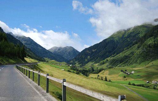 Перевал Оберальп, Швейцария