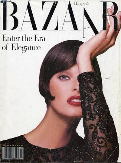 Harper's Bazaar (сентябрь 1992)