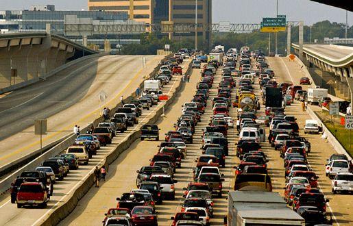 Пробка в Хьюстоне