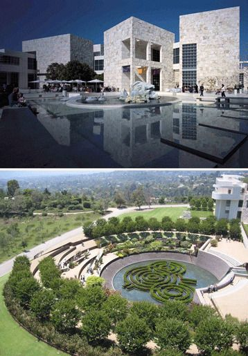 Центр Гетти, в Лос-Анджелесе, штат Калифорния