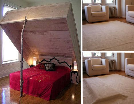 Кровать-мышеловка, Pump It bed