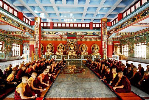 Монастырь Намдролинг - Билакуппе, Тибет