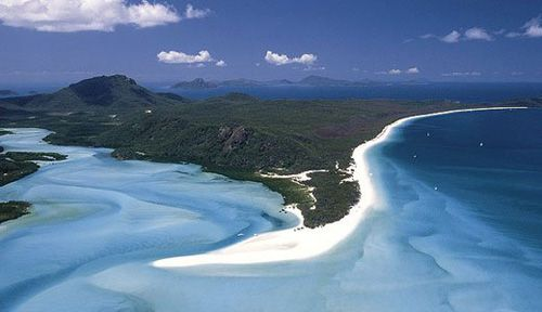 The Whitsunday Islands