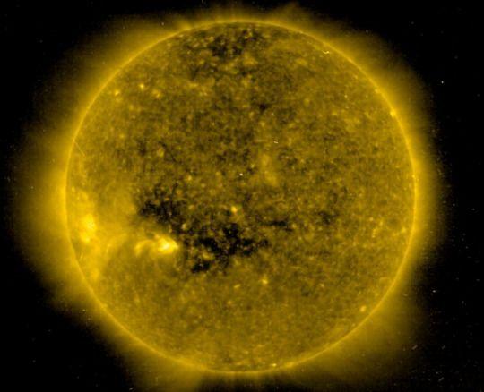 Пятна на Солнце