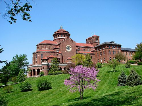 Монастырь Непорочного Зачатия - Индиана, США