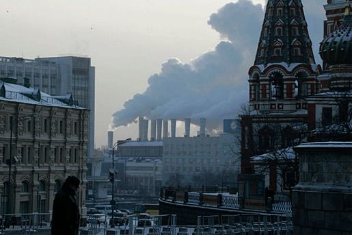 Россия загрязнение