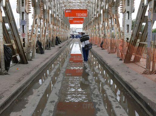 фестиваль Sziget мост