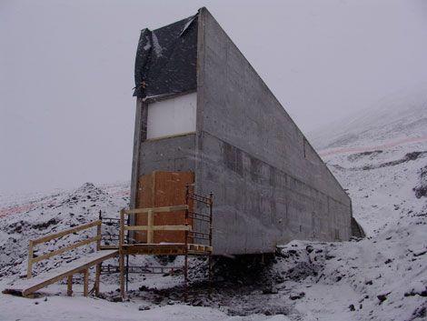 Свальбардских хранилище семян растений