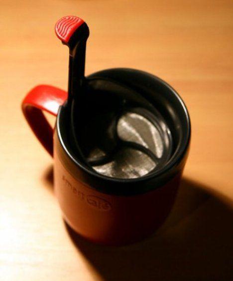 Чашка с вмонтированным ситечком