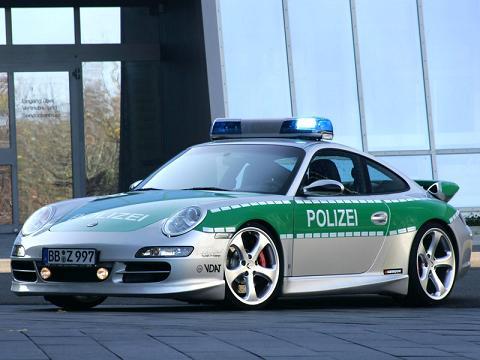 Porsche 911 carrera police car
