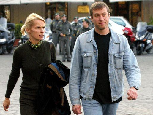 Ирина и Роман Абрамович развод