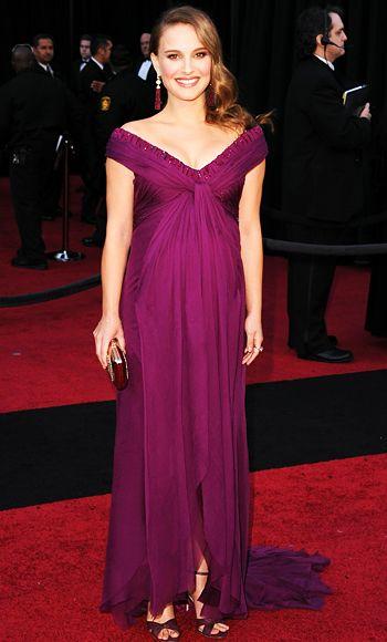 Натали Портман, платье