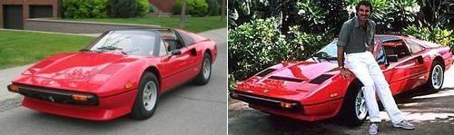 Ferrari 308GTS, Magnum P.I.
