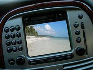 Телевидение в машине