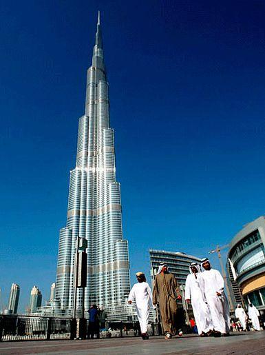 Бурдж-Калифа, Дубай, Объединенные Арабские Эмираты
