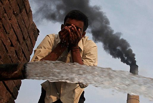 Индия загрязнение