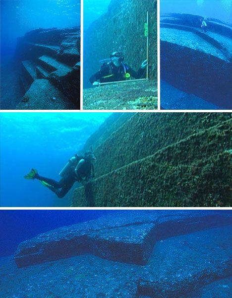 Йонагуни-загадочная подводная пирамида Японии