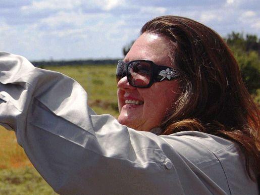 Австралийская магнатка железной руды Джина Райнхарт