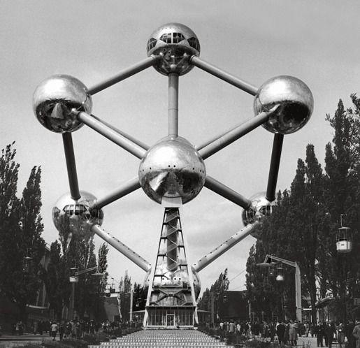Выставочное здание «Атомиум», Брюссель