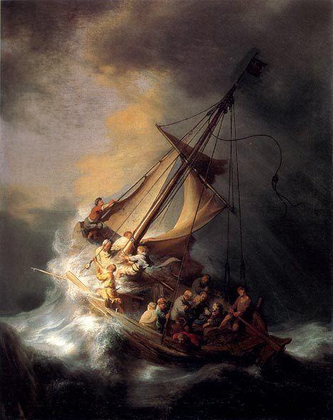 Рембрандт «Шторм у Галілеї»