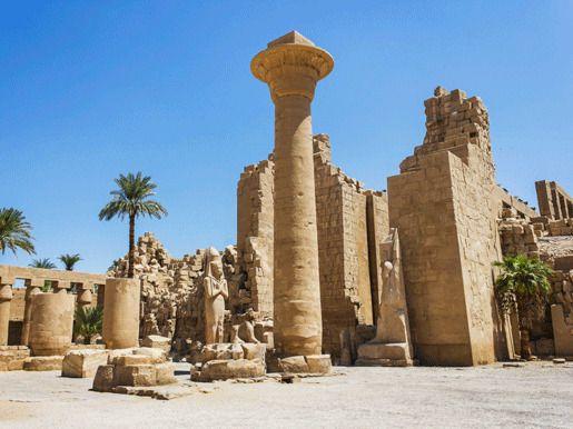 Карнакский храм, Луксор, Египет