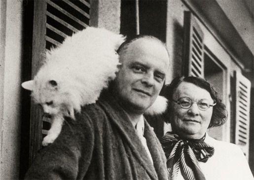 Пауль Клее и его кот