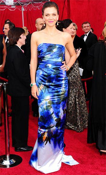 Мэгги Гилленхаал, платье