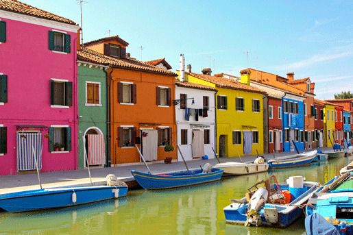 Островной квартал Бурано (Венеция), Италия