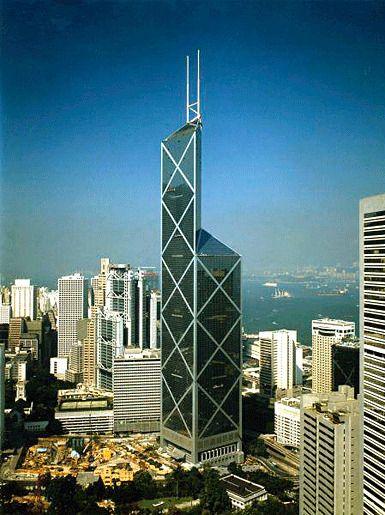 Башня банка Китая, Гонконг