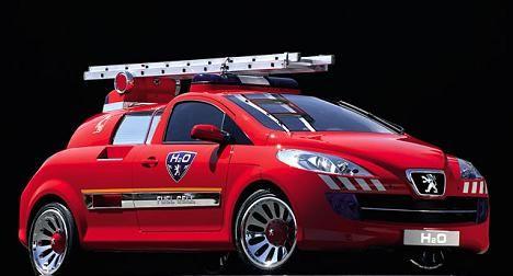 Peugeot h2o fire engine