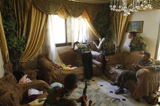 Азаза, Сирия