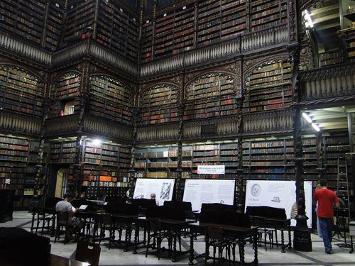 Португальская комната чтения, Рио-де-Жанейро, Бразилия