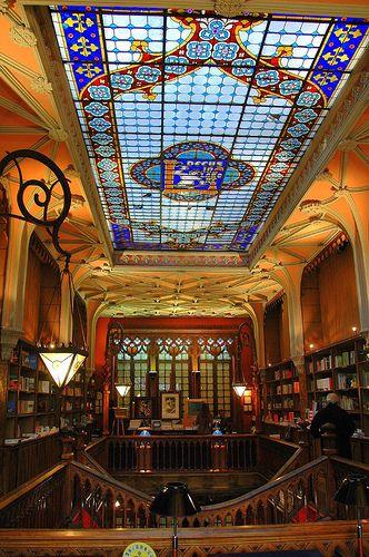 книгарня Livraria Lello