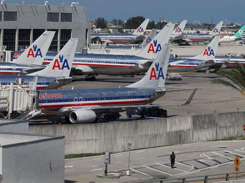 Транспорт: American Airlines