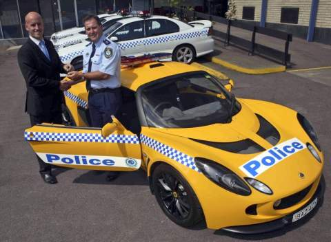 Lotus esprit s4 police car
