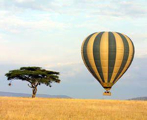 Сафарі на повітряній кулі, національний парк Серенгеті, Танзанія