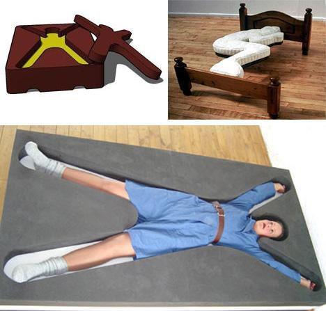 Foetal Position Bed, Hold Me Bed