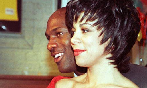 Майкл и Хуанита Джордан