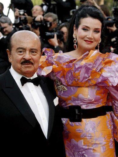 Аднан и Сорайя Кхашогги