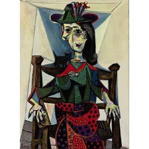Дора Маар с кошкой, Пабло Пикассо