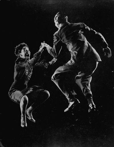 Гьйон Мили линди-хоп танец