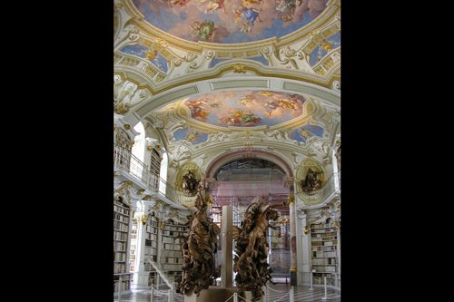 Библиотека Адмонта, Австрия