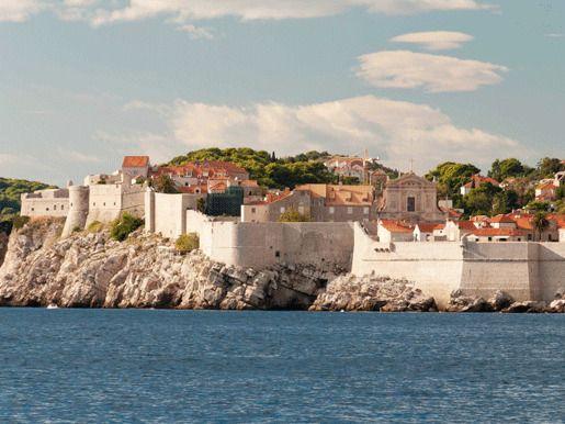 Стены древнего города, Дубровник, Хорватия