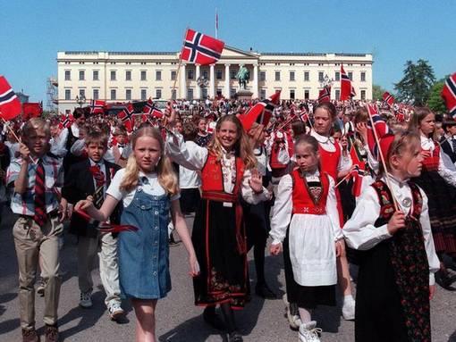 Норвегия дети