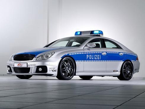 Brabus police car