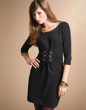 сукня зі шнуруванням
