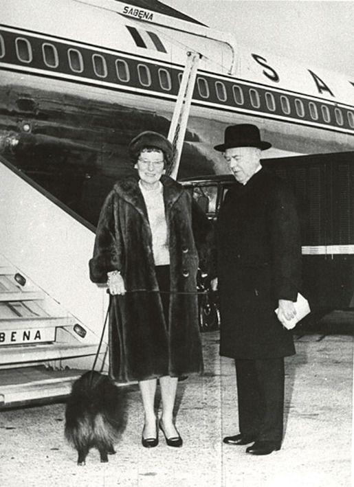 Рене Магритт и его собака